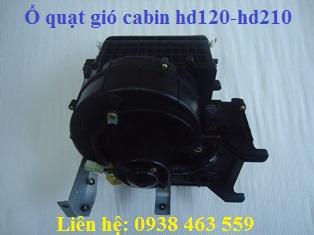 971507C800 Bộ quạt gió cabin 5 tấn và 13 tấn giò rút