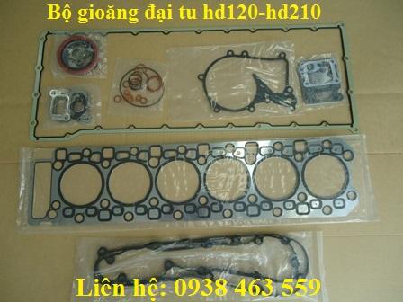 Gioăng đại tu hd120 và hd210