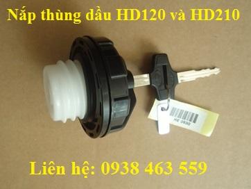 Nắp thùng nhiên liệu hd120 và hd210