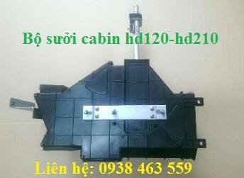 Bộ quạt sưởi cabin hd120 và hd210