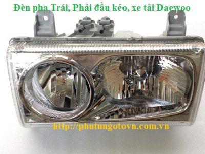 3831000440 Đèn pha trái 3831000450 phải đầu kéo Daewoo