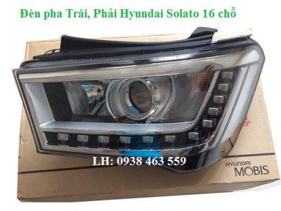 9210159100 Đèn pha trái  9210259100 phải Hyundai solati