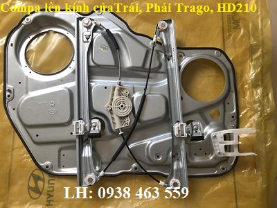 815557M011 Com pa lên kính trái 815657M011 phải hyundai trago và hd210